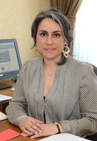 Jefa de Gabinete, Prof. Norma Huerta A.
