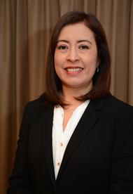 Dra. María Angélica Hidalgo Gómez, Directora del Departamento de Investigación