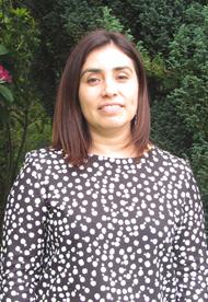 Dra. Angara Zambrano, Directora (S) de la Unidad de Relaciones Internacionales