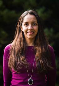 Dra. Andrea Piñones, Fac. de Ciencias.