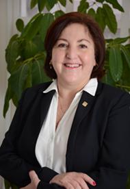 Dr. Dra. María Alejandra Droguett, Directora Unidad de Relaciones Nacionales y Regionales